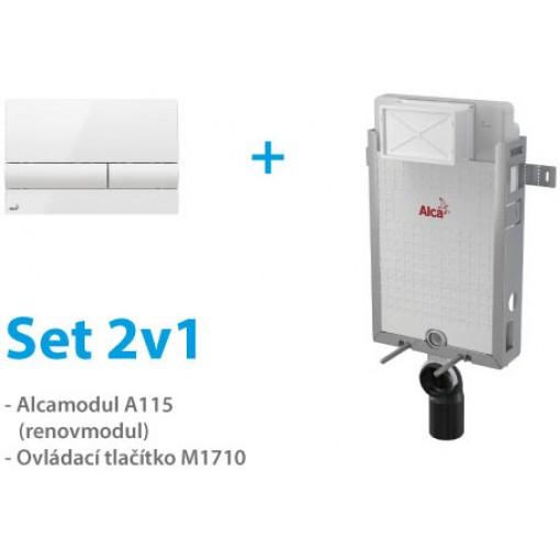 Set ALCAPLAST 2v1 AM115/1000, M1710, Renovmodul A115SET2V1 (A115SET2V1)