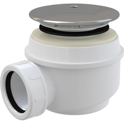Alcaplast sifon pro sprchové vaničky 60mm chrom krytka, 45l/min, Alca Plast, i pro keramické vaničky A47CR-60 A47CR-60
