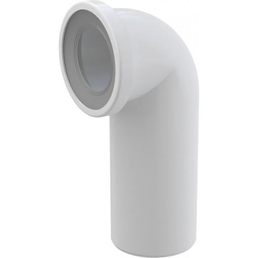 WC koleno přip. bílé 90st. ALCAPLAST A90-90 (A90-90)