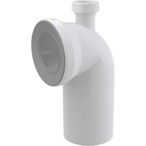 WC koleno s odb.40 bílé 90st. ALCAPLAST A90-90P40 (A90-90P40)