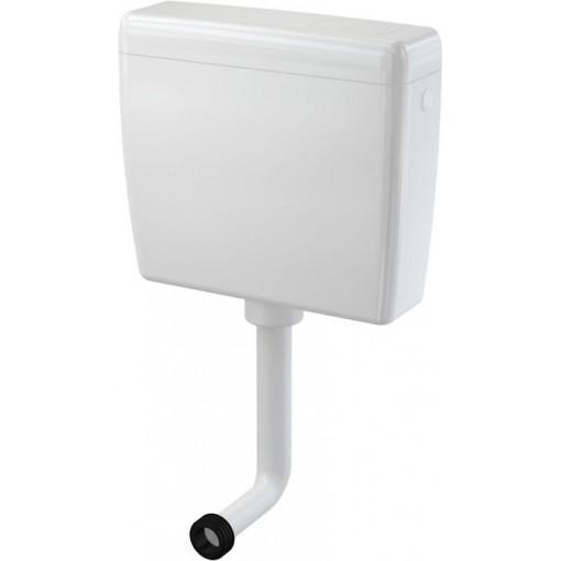 WC nádrž ALCAPLAST UNI-DUAL A93-1/2 3/6l bílá vysoko i nízko položená A93-1/2 (A93-1/2)