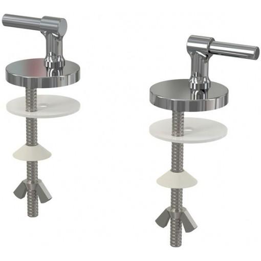 WC sed. sada pantů+šroubů (kov)Z0127 pro A62 ALCAPLAST Z0127 (Z0127)