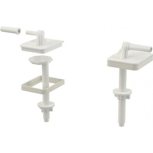 WC sed. sada pantů+šroubů pro A60 ALCAPLAST P0009 (P0009-ND)
