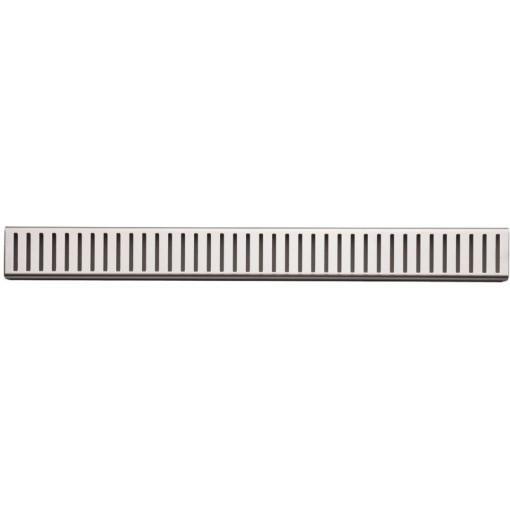 ALCAPLAST-PURE-1450L rošt podlahového žlabu lesklý (PURE-1450L)