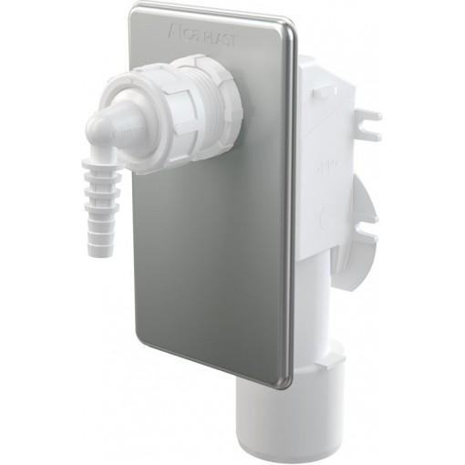 Sifon pro odkapávající kondenzát podomítkový, nerez ALCAPLAST AKS7 (AKS7)