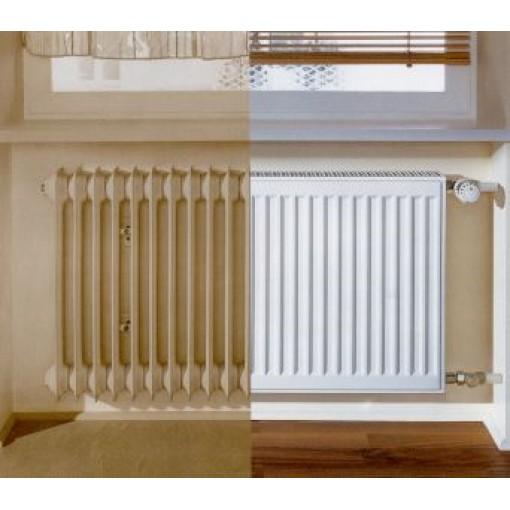 Kermi radiátor Profil bílá K12 554 x 1200 Levý / Pravý REKONSTRUKCE (FK012D512)