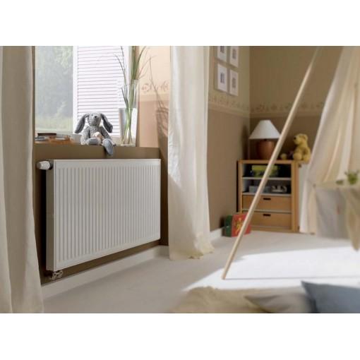 Kermi radiátor Profil bílá V12 600 x 600 Levý (FTV120600601L1K)