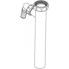 ALCAPLAST Sifonový mezikus 6/4x40 1x pračková přípoj A44MS (A44MS)