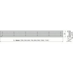 Alcaplast GAP-850M rošt pro APZ6, 106, 1006, 1106 (GAP-850M)