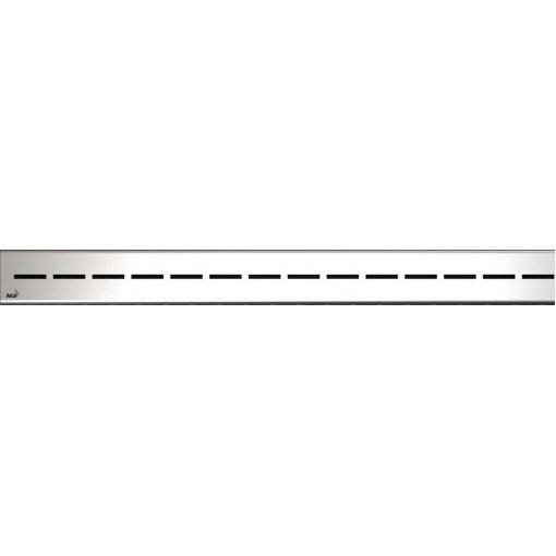 Alcaplast ROUTE-850L lesklý rošt nerez pro žlab APZ13 Modular (ROUTE-850L)