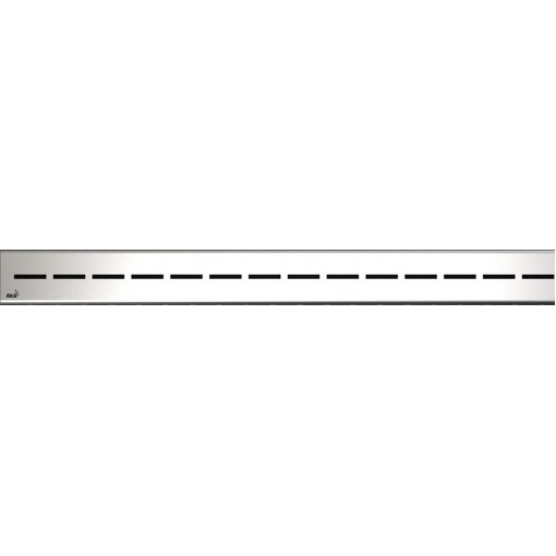 Alcaplast ROUTE-950L lesklý rošt nerez pro žlab APZ13 Modular (ROUTE-950L)