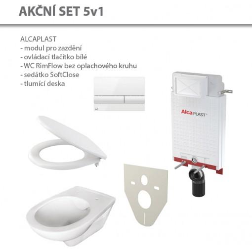 Alcaplast set ALCARIM 5v1 AM100/1000,M1710,M91/A604/WCRIM (AM100SET5v1III)