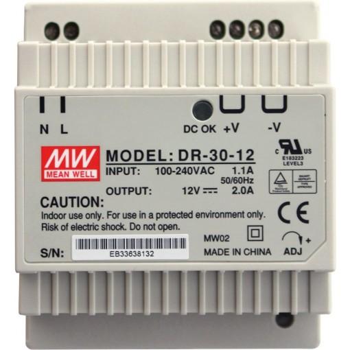 Alcaplast Síťový zdroj 230 V AC/12 V DC/30 W, IP20 (AEZ311)