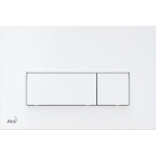 Alcaplast ovládací deska M570 bílá, THIN tloušťka 5,5 mm (M570)