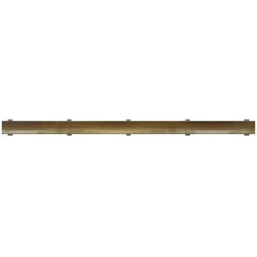 Alcaplast Rošt pro liniový podlahový žlab, bronz-antic DESIGN-850ANTIC