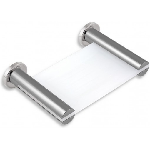 NOVASERVIS - Mýdlenka sklo Metalia 2 chrom 6236,0