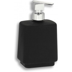 NOVASERVIS - Dávkovač mýdla na postavení Metalia 4 černá-chrom 6450/1,5