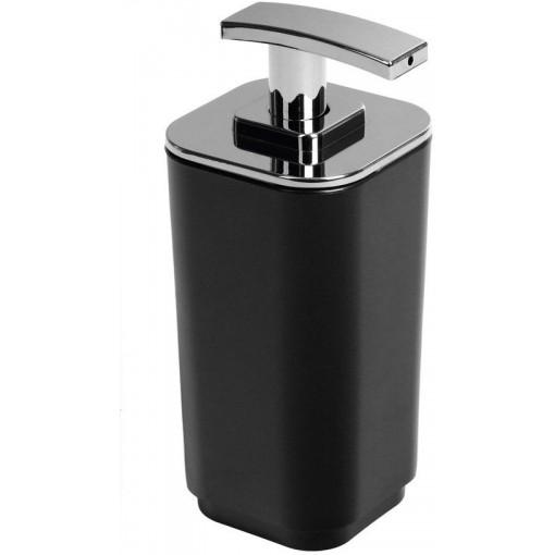 AQUALINE - SEVENTY dávkovač mýdla na postavení, černá (638214)