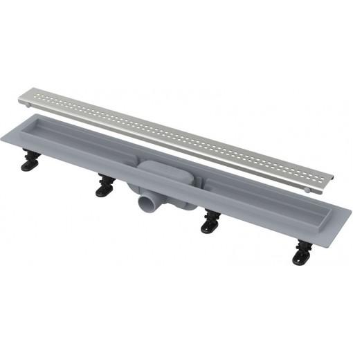 Alcaplast APZ9-750M plastový žlab s roštem kout min. 800mm Simple (APZ9-750M)