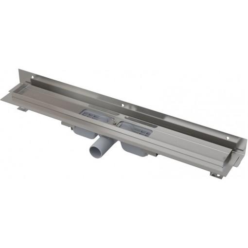 Alcaplast APZ104-950-LOW podlahový žlab ke zdi v.55mm SNÍŽENÝ min. 1000mm kout (APZ104-950)