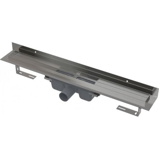 Alcaplast APZ16-1150 Wall podlahový žlab v.95mm kout min. 1200mm pro plný rošt a s pevným límcem ke stěně APZ16-1150