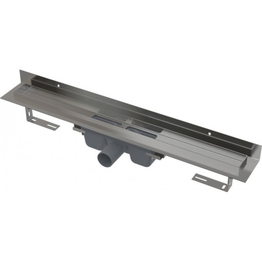Alcaplast APZ16-950 Wall podlahový žlab v.95mm kout min. 800mm pro plný rošt a s pevným límcem ke stěně APZ16-950
