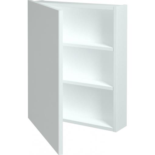 Dřevojas - Jednodvéřová galerka Q GA 60 - N01 Bílá lesk / Levé (29015)