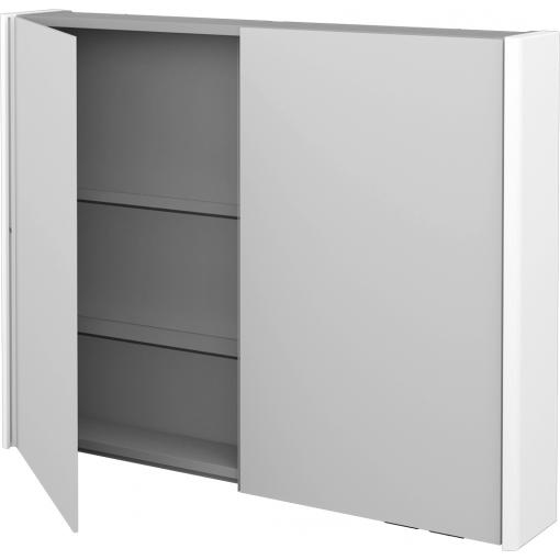 Dřevojas - Dvoudvéřová galerka ENZO GA2OE 100 - M01 Bílá mat (188009)