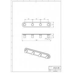 NOVASERVIS - Čtyřháček Metalia 1 chrom 6143,0