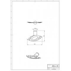 NOVASERVIS - Držák kartáčů a pasty Metalia 2 chrom 6244,0