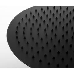 SAPHO - Hlavová sprcha SLIM, průměr 250mm, černá mat (SF715)