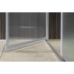 AQUALINE - PILOT otočné sprchové dveře dvojkřídlé 800mm (PT082)
