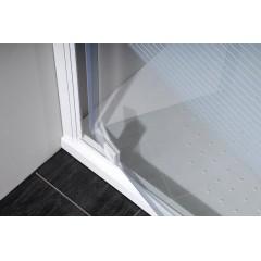 GELCO - ETERNO sprchové dveře 800mm, sklo BRICK GE7680