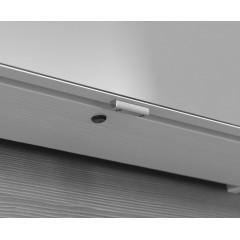 SAPHO - CLOE galerka s LED osvětlením 120x50x18cm, bezdotykový senzor, bílá (CE125)