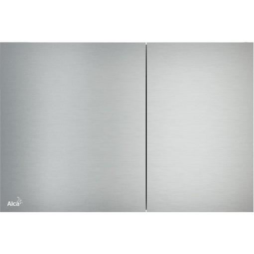 Alcaplast ovládací deska Flat AIR kov-mat (AIR)