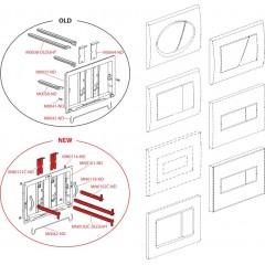 Alcaplast ovládací deska M270 bílá M270