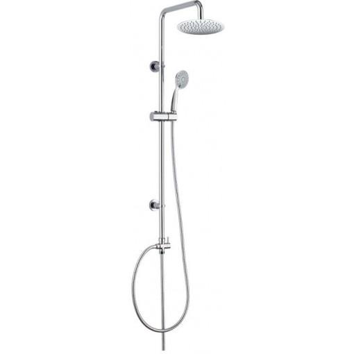 MEREO - Sprchová souprava Sonáta, nerezová hlavová sprcha a třípolohová ruční sprcha (CB60101SK)