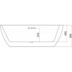 REA - Akrylátová vana Porto 170cm bílá (REA-W0650)