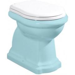 KERASAN - RETRO WC sedátko, bílá/chrom 109001