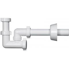 BONOMINI - BAZOOKA bidetový sifon 1'1/4, odpad 32mm, bílá 2314CP32B0