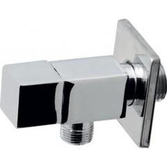 AQUALINE - Rohový ventil 1/2'x3/8', bez matky, hranatý, chrom 5318
