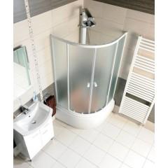 AQUALINE - Panel čelní k hluboké vaničce 90x90cm, výška 37,5cm, bílá B93