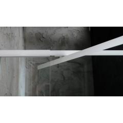AQUALINE - AMICO sprchové dveře výklopné 1040-1220x1850 mm, čiré sklo G100