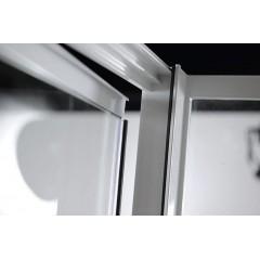 AQUALINE - AMICO sprchové dveře výklopné 820-1000x1850 mm, čiré sklo G80