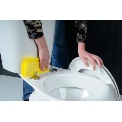 AQUALINE - SOFIA WC sedátko, Soft Close, bílá BS122