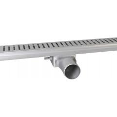 GELCO - MANUS ONDA nerezový sprchový kanálek s roštem, 850x130x55 mm GMO14