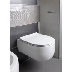KERASAN - FLO závěsná WC mísa, 36x50cm, bílá 311501