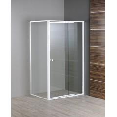 AQUALINE - AMICO boční stěna, sklo, pevná část, 900 mm GS90