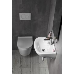 AQUALINE - Keramické umyvadlo 45x35cm 10TP71045