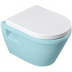 AQUALINE - DONA WC sedátko, Soft Close, bílá FD121